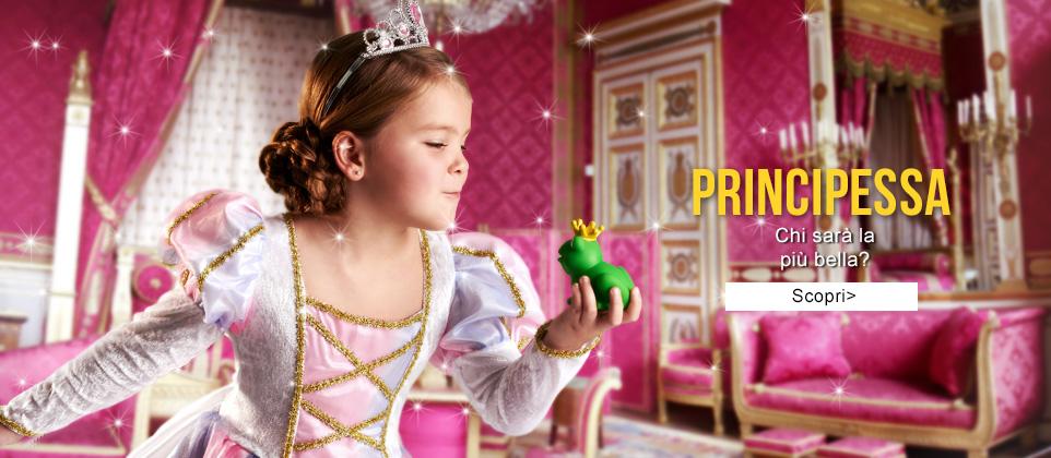 Costumi di Carnevale Principesse