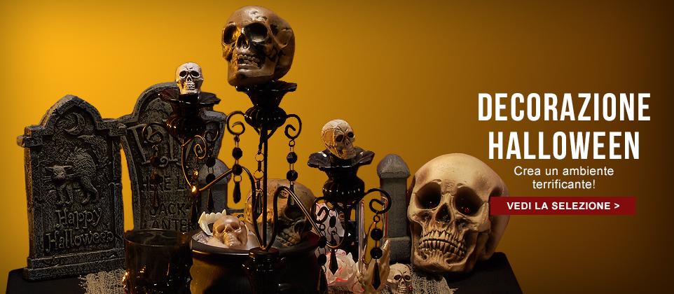 Decorazioni e addobbi di Halloween