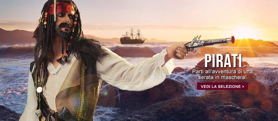 Travestimenti pirati