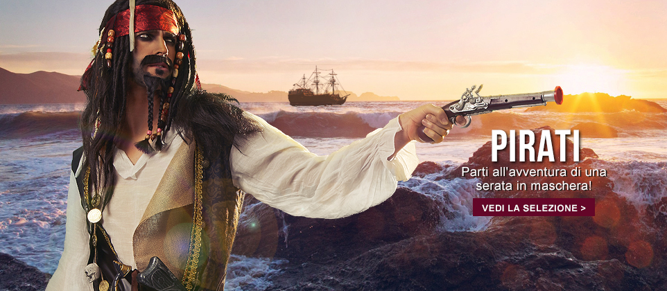 costumi da pirata