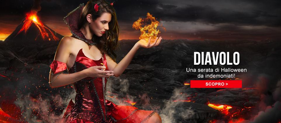 Travestimenti e accessori da diavolo e demone