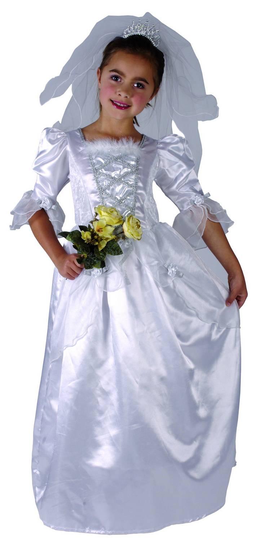50aa861231db COSTUME DA SPOSA bambina con velo Carnevale Cod.214600 - EUR 24