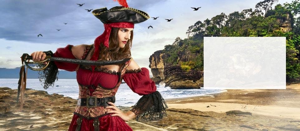 Travestimenti e accessori da pirata