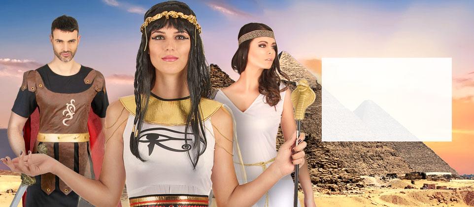 Travestimenti e accessori popoli dell'antichità