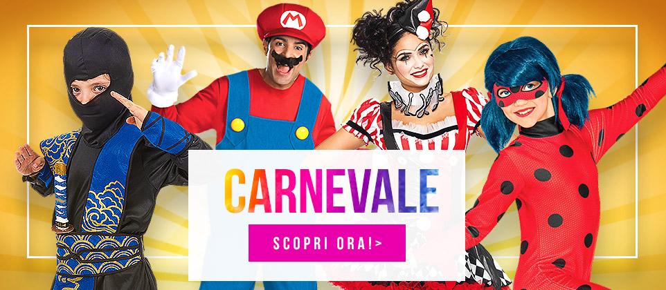 Travestimenti e accessori per Carnevale