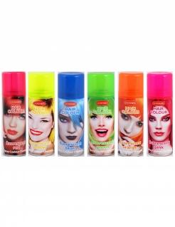 Bomboletta colorata fluorescente per capelli