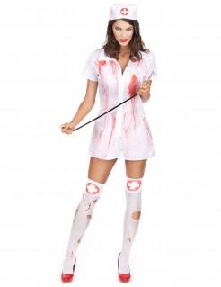 Costume da infermiera psicopatica Halloween
