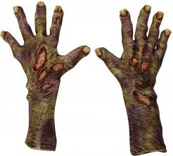 Guanti zombie decomposto adulto Halloween