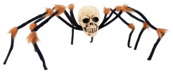 Decorazione cranio ragno Halloween