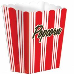 8 Contenitori di carta Pop Corn Hollywood