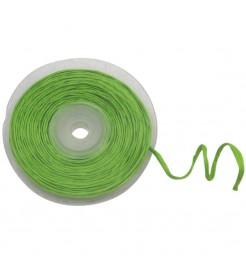 Rotolo di rafia con filo metallico verde
