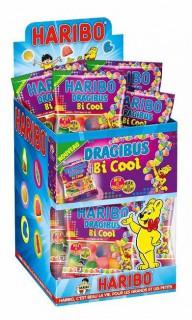 Mini sacchetto di caramelle Haribo dragibus cool