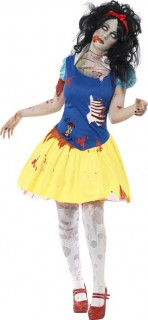 Principessina zombie Halloween