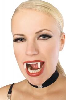 Dentiera da vampiro fosforescente