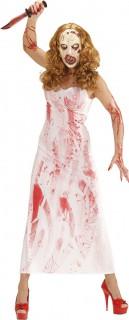 Costume assassina insanguinata adulto Halloween