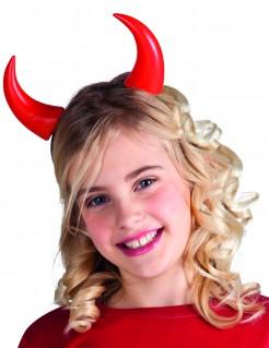 Corna rosse bambina/o Halloween