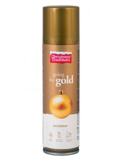 Bomboletta spray dorata