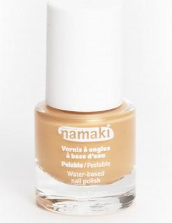 Smalto per unghie a base di acqua oro 7,5 ml Namaki Cosmetics ©