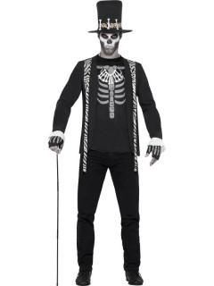 Costume da stregone uomo Halloween