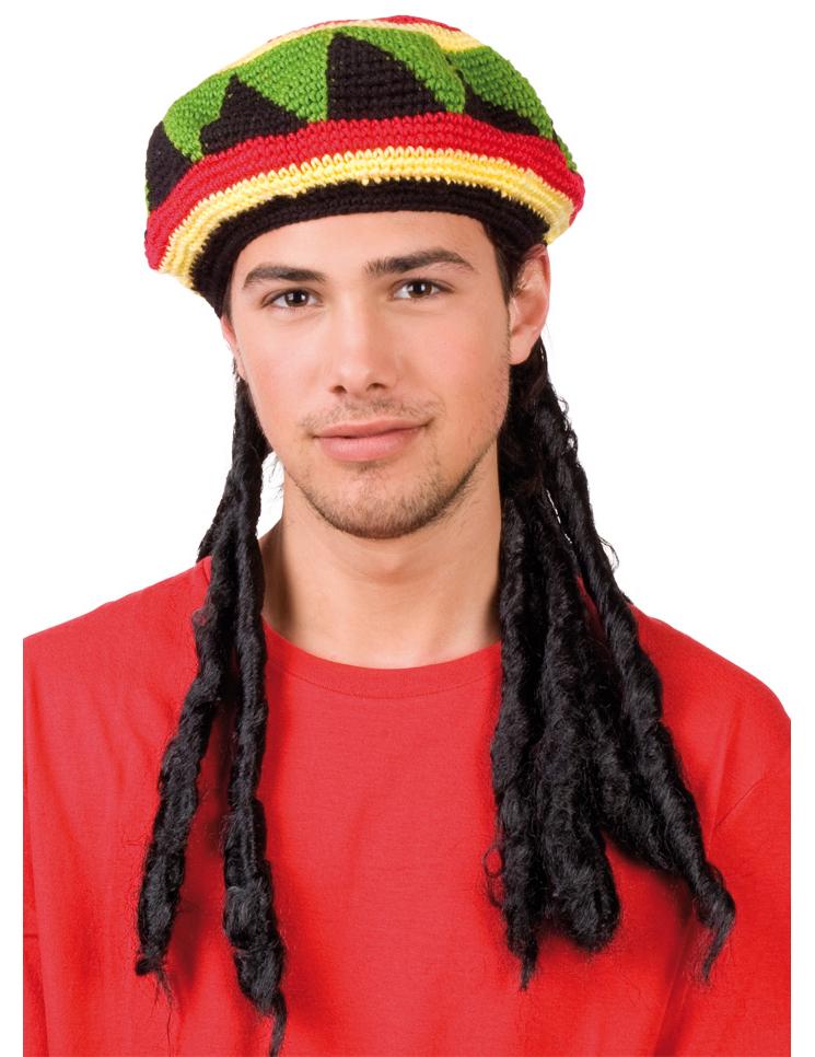 Cappello rasta adulti: Cappelli,e vestiti di carnevale ...