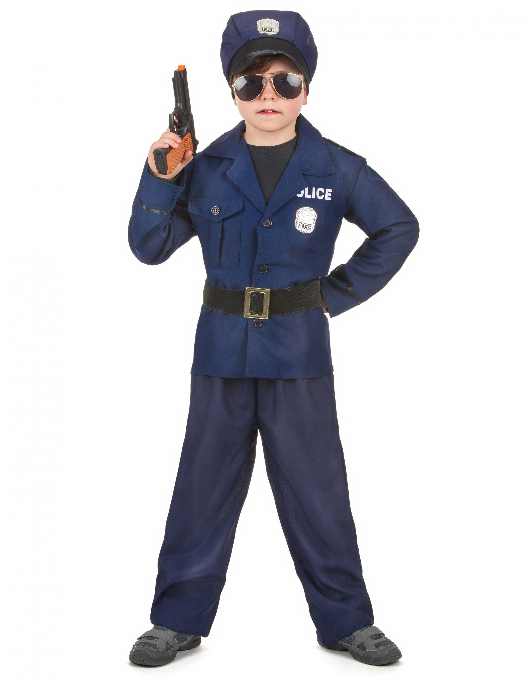 ottenere a buon mercato piuttosto fico Liquidazione del 60% Costume poliziotto deluxe bambino