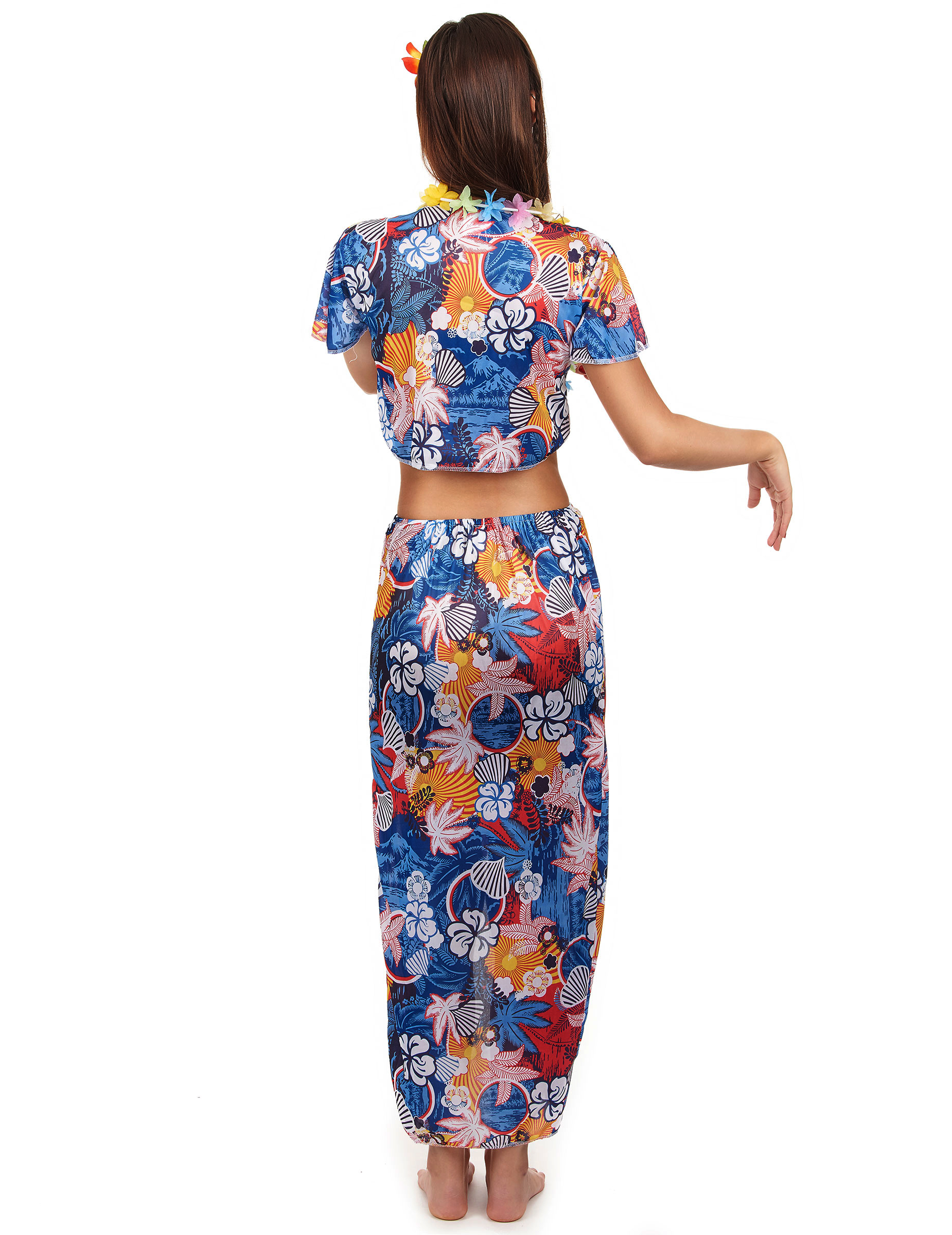 Costume turista hawaiana donna  Costumi adulti 1211086ac73b