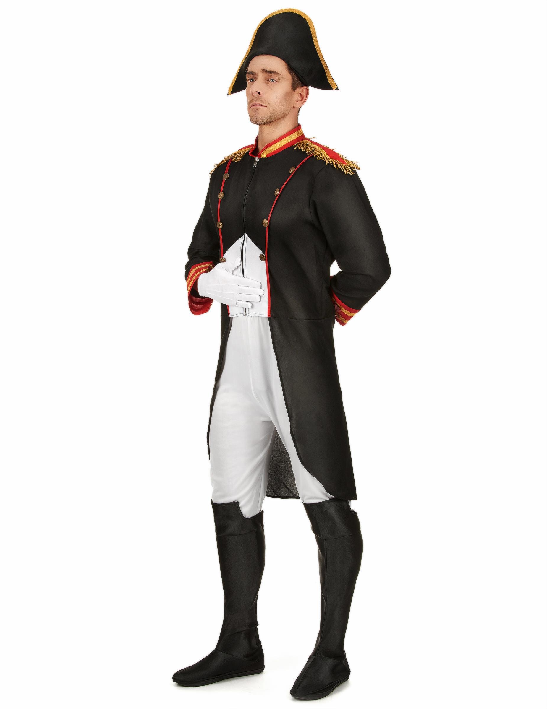 colore veloce grande sconto per alta qualità Costume Napoleone uomo
