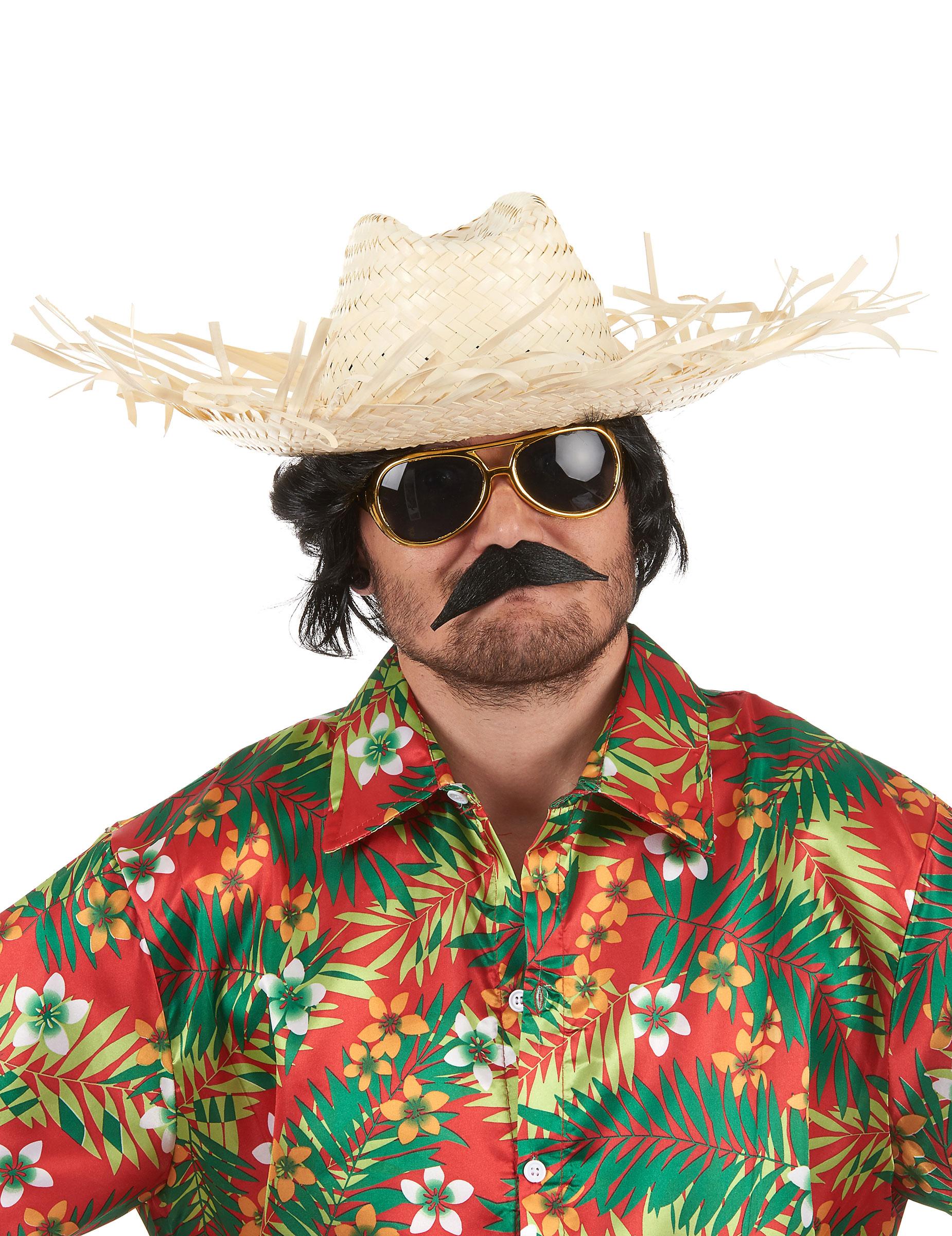 Cappello di paglia Hawaii per adulto  Cappelli 2e04f188b80e