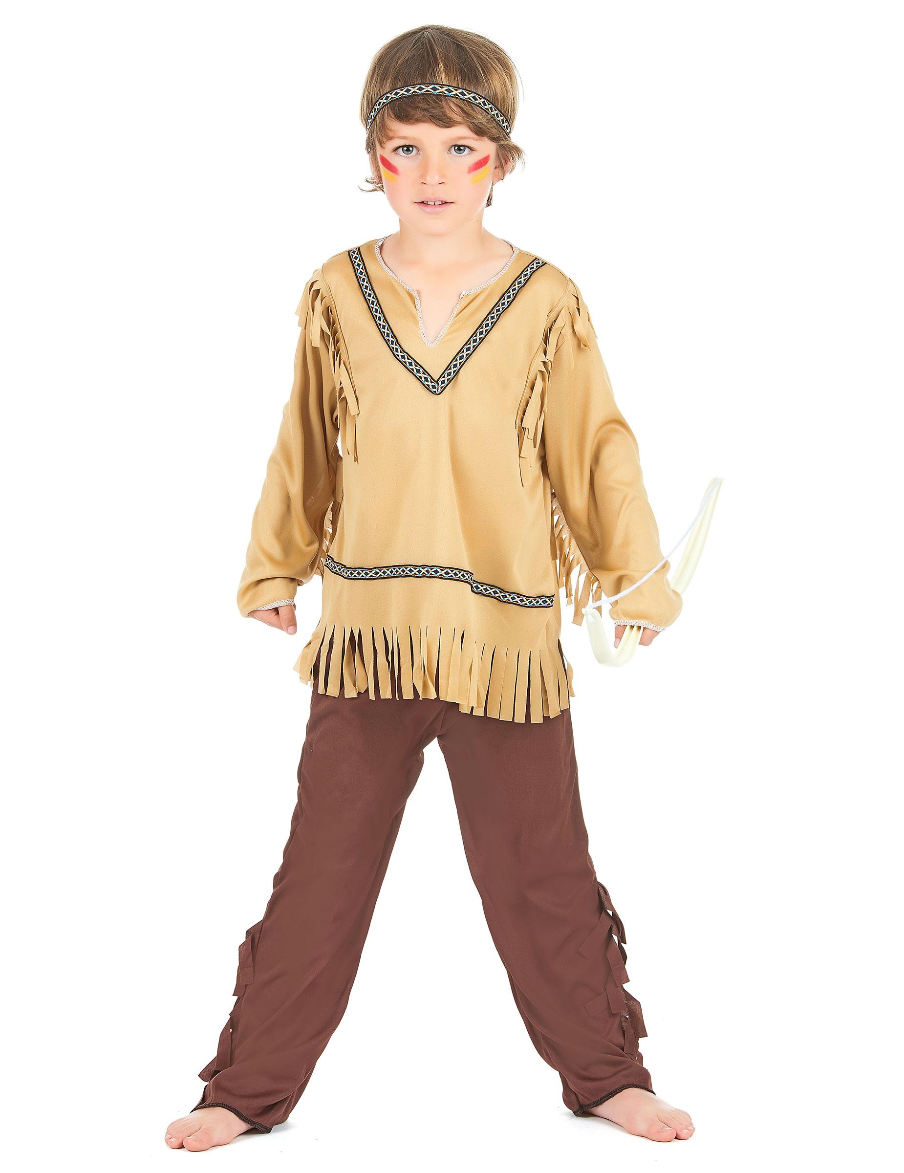 risparmia fino all'80% reputazione affidabile rivenditore di vendita Costume indiano bambino
