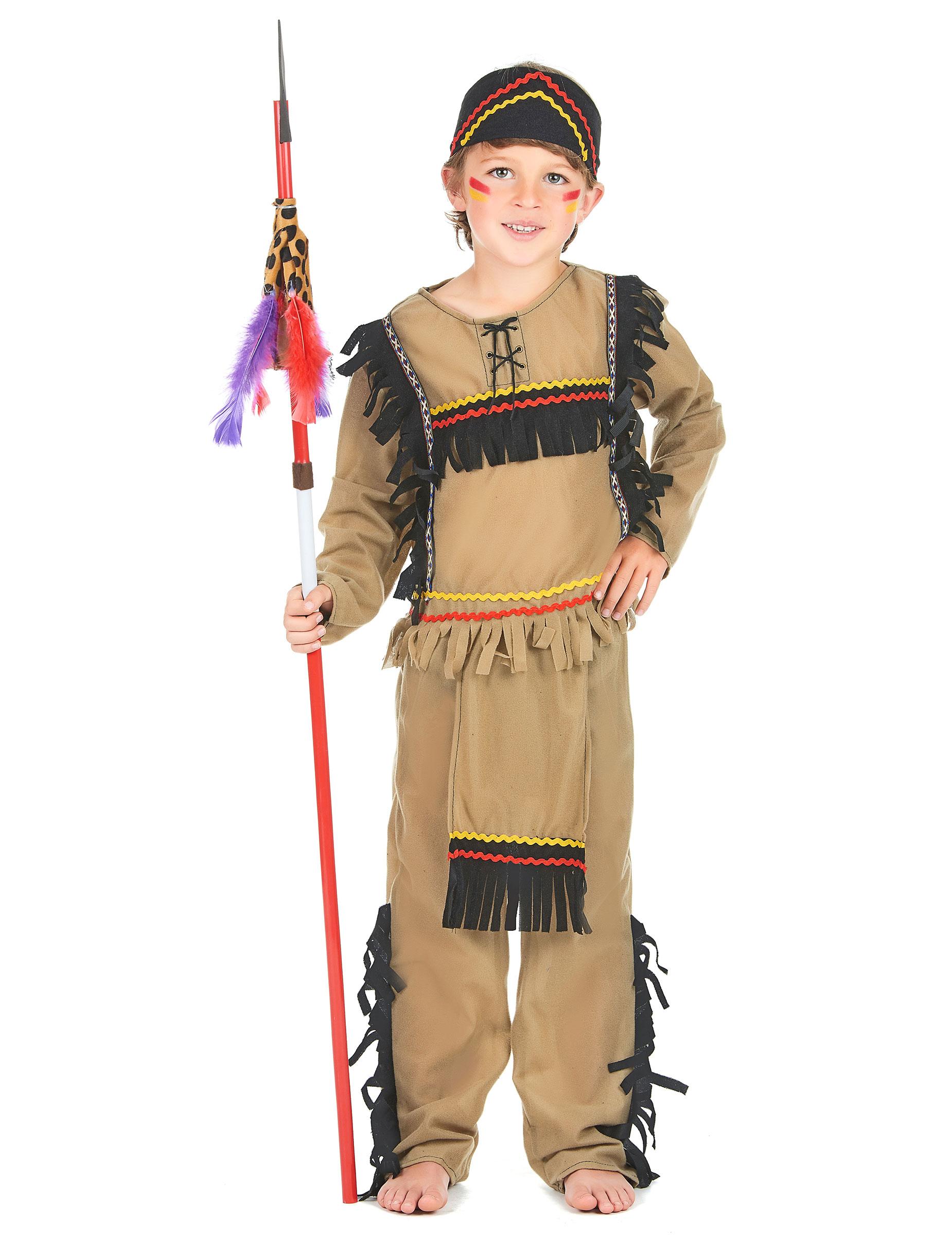 indiana carnevale bambina  Costume indiano guerriero bambino: Costumi bambini,e vestiti di ...