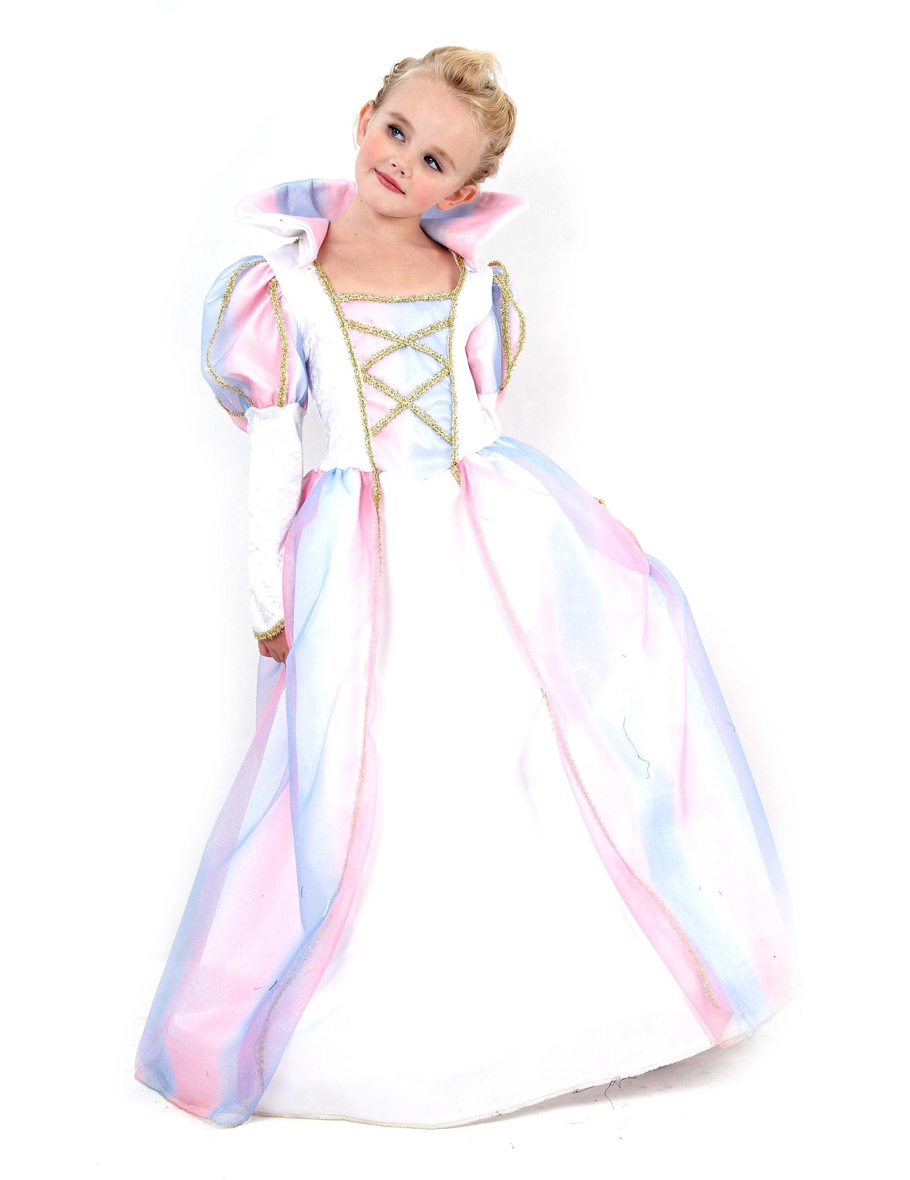 Estremamente Costume principessa bambina: Costumi bambini,e vestiti di  EO16