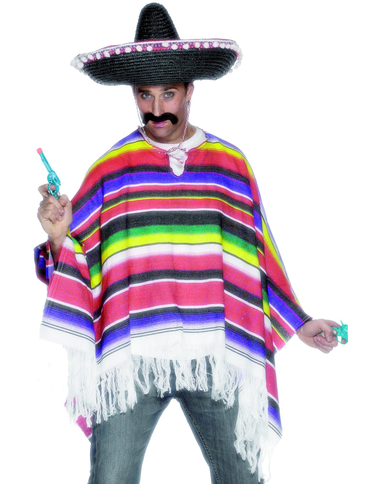 Poncho da messicano uomo  Costumi adulti 9c3b8d024c4f