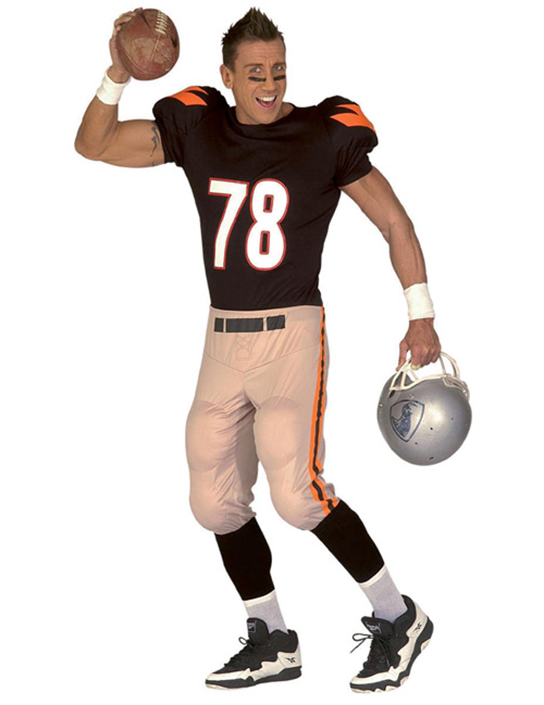 2f4f98428190 Costume giocatore di football americano: Costumi adulti,e vestiti di ...