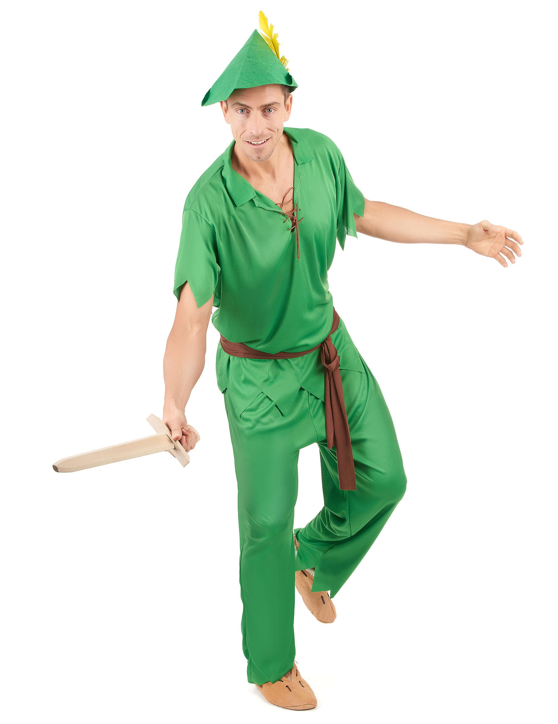 grande varietà qualità autentica classcic Costume da ragazzo dell'isola fantastica per adulto
