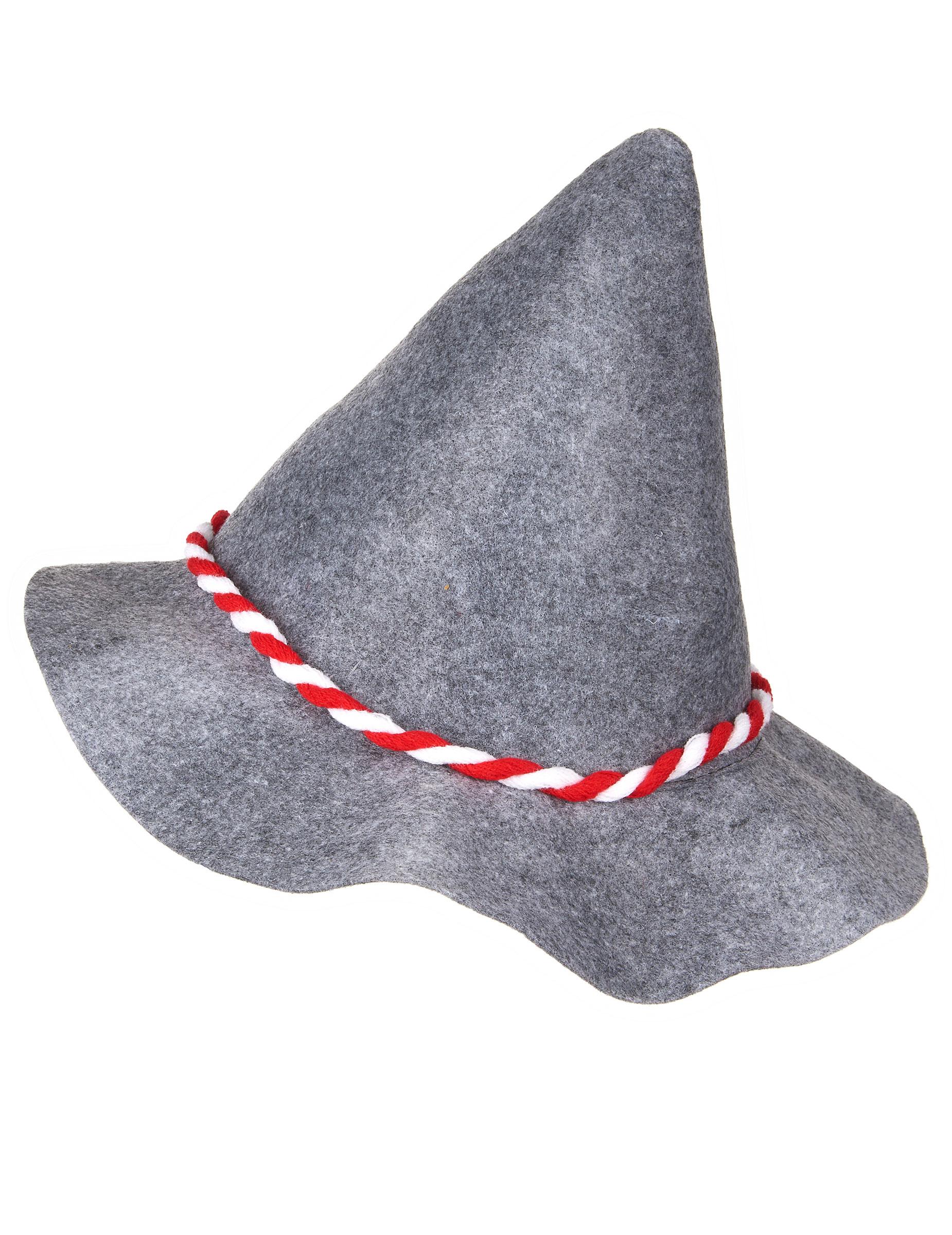 Cappello bavarese grigio per adulto  Cappelli 5cfa080f7979