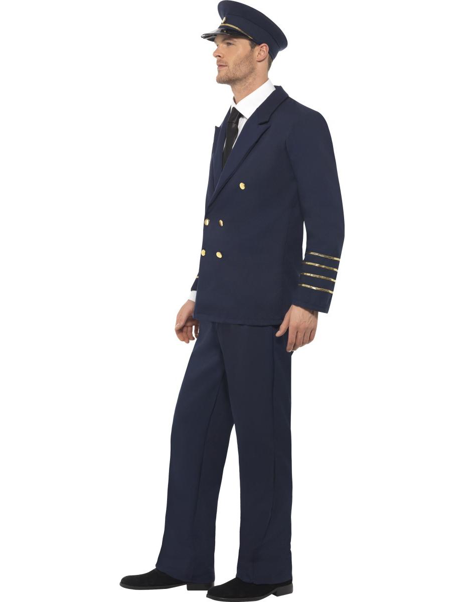Kit pilota di linea Taglia Unica aqIYTUnBLK