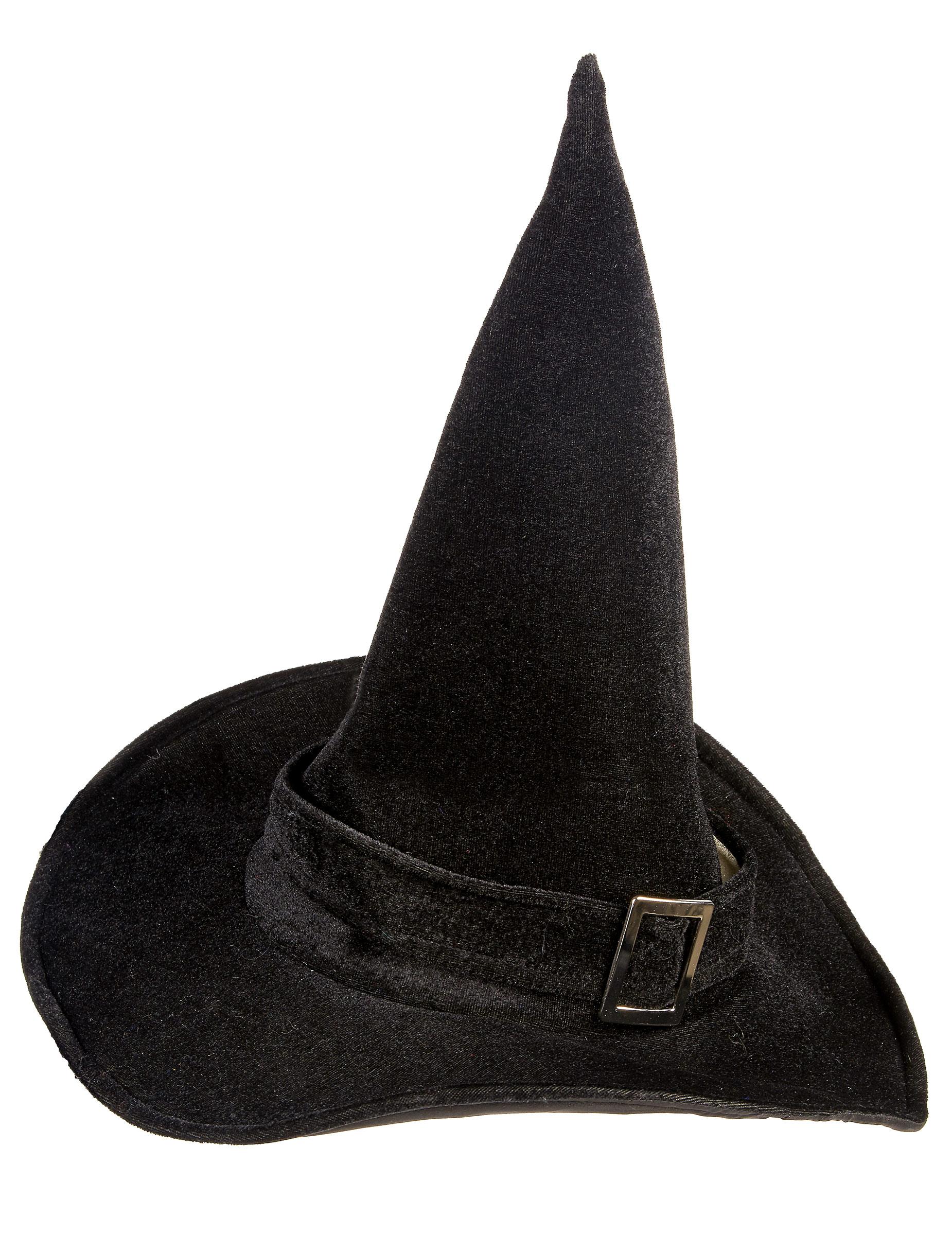 Cappello da strega in velluto donna Halloween  Cappelli 20a6698c41bf