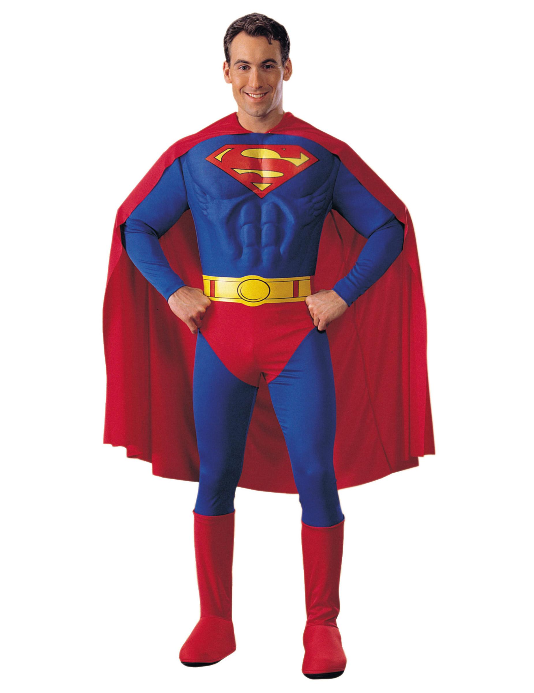 Costume superman™ uomo costumi adulti e vestiti di carnevale
