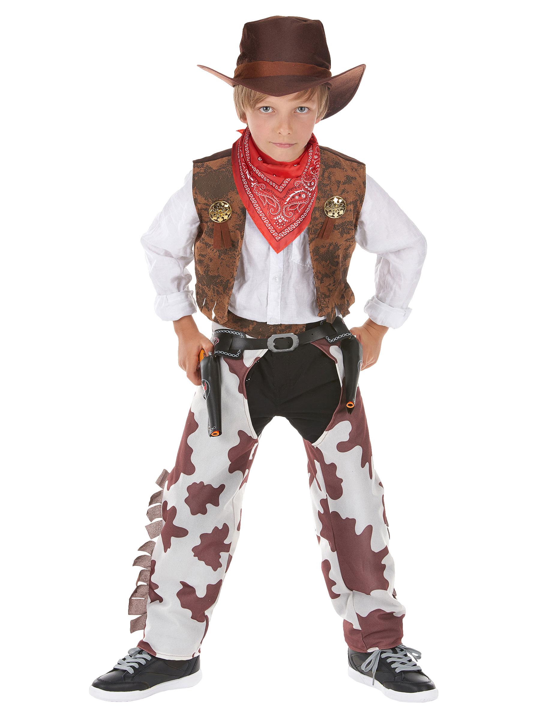 c1d72968d156 Costume cowboy temerario lusso bambino: Costumi bambini,e vestiti di ...
