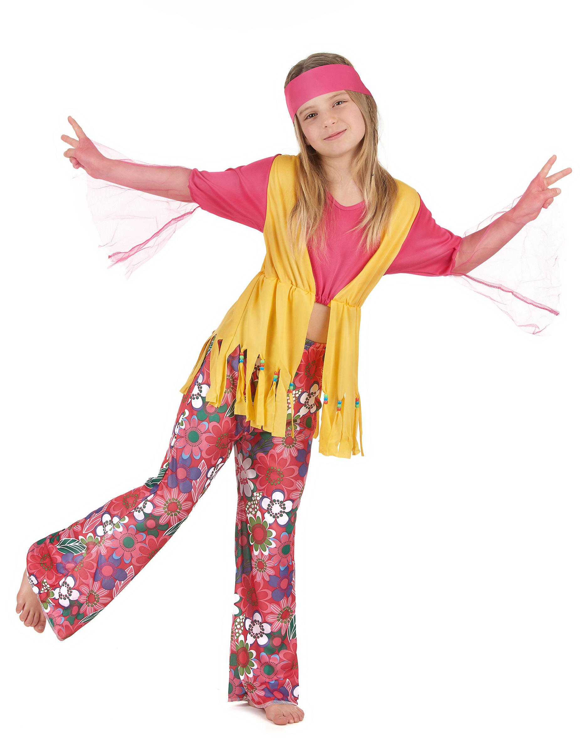 Costumi di Carnevale da hippie per bambini su Vegaoo.it 220f013e439