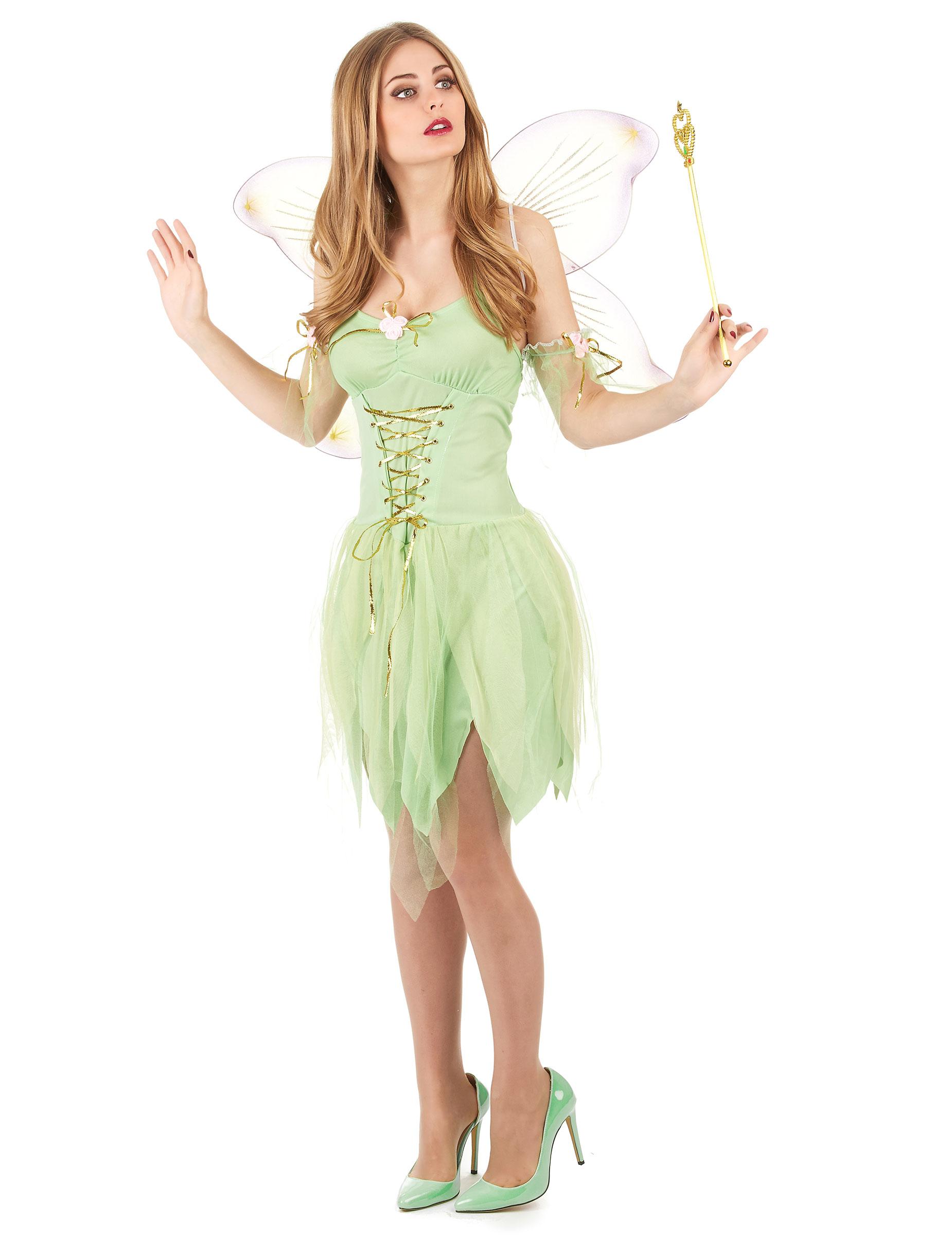 Top Costume fatina sexy donna: Costumi adulti,e vestiti di carnevale  WL48