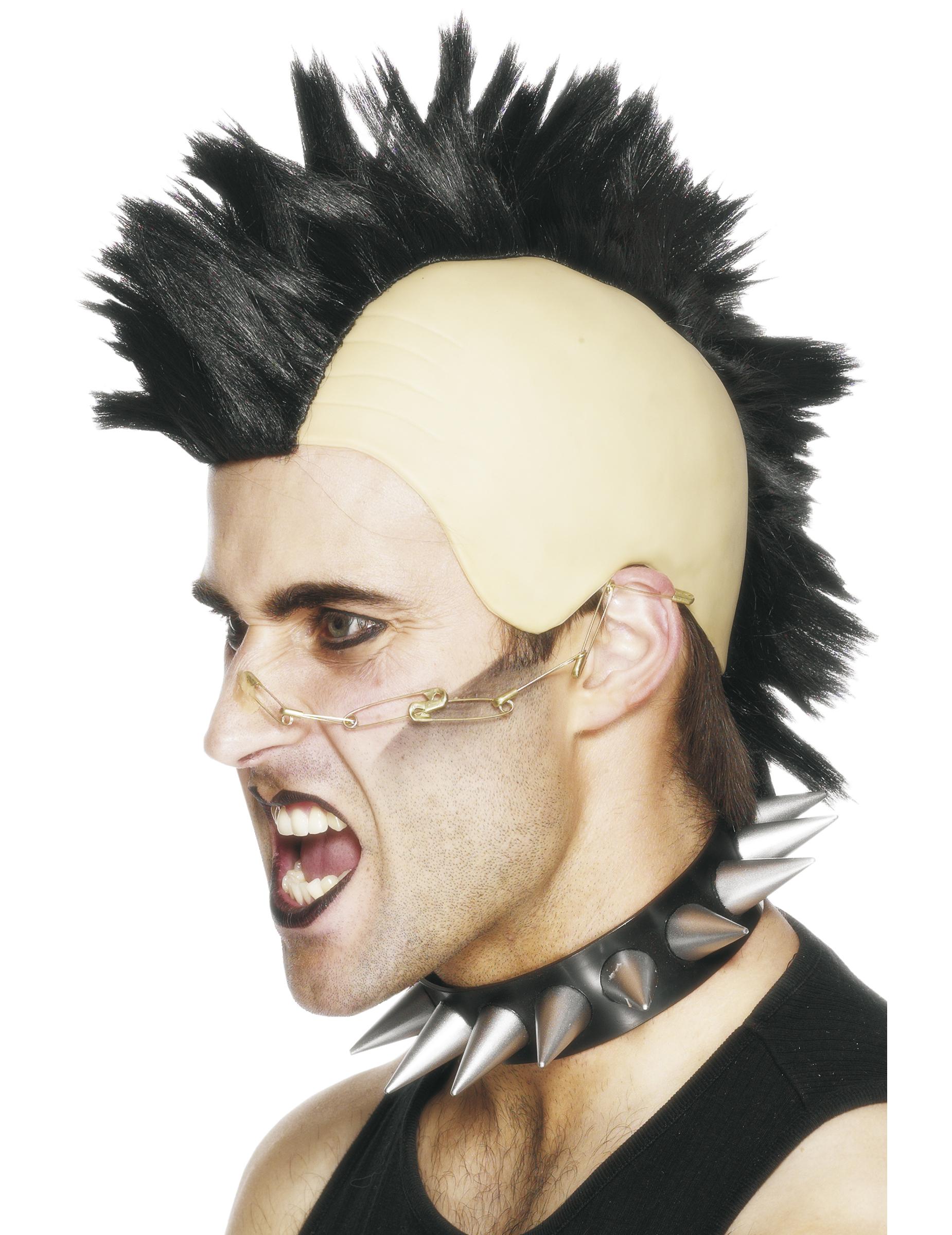 promo code 794ca 75a02 Parrucca da punk uomo