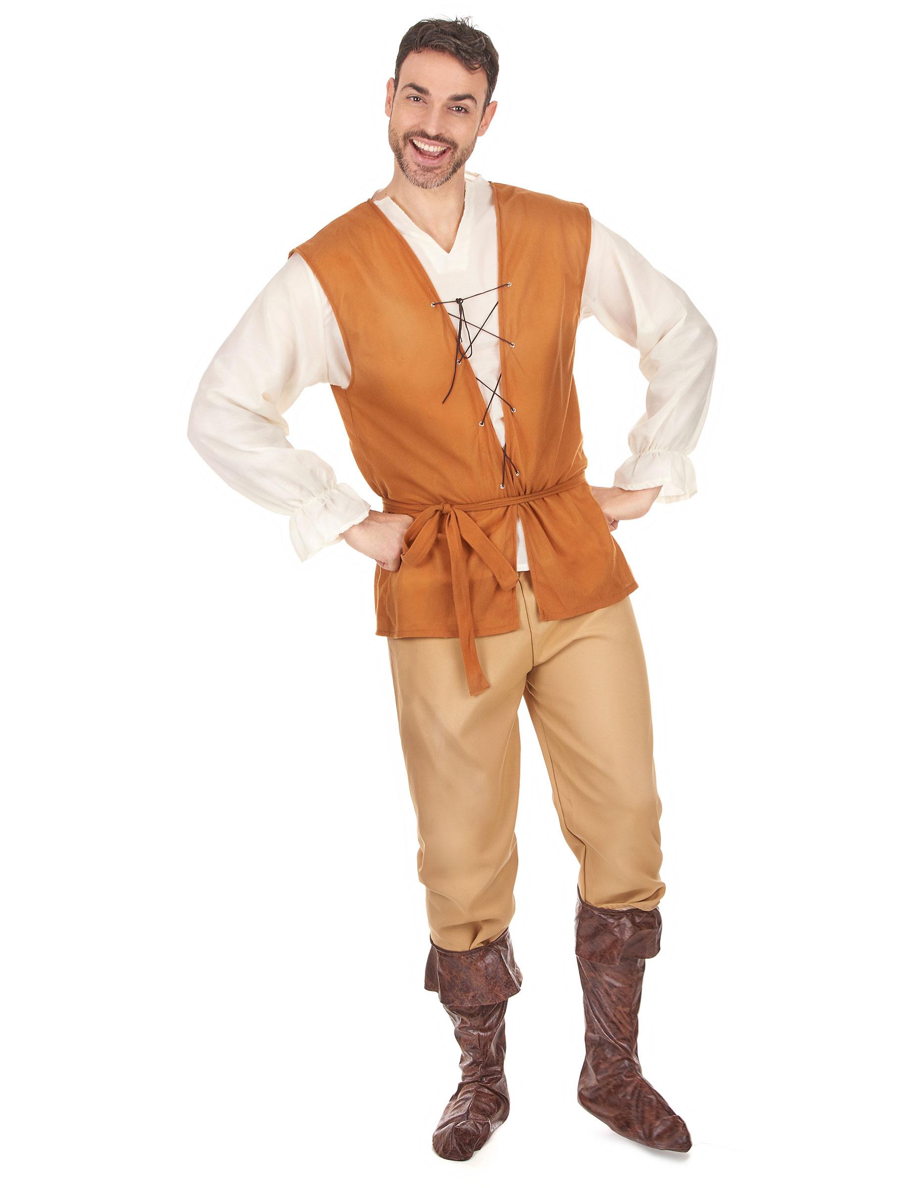 Costume Contadino Uomo Costumi Adultie Vestiti Di Carnevale Online