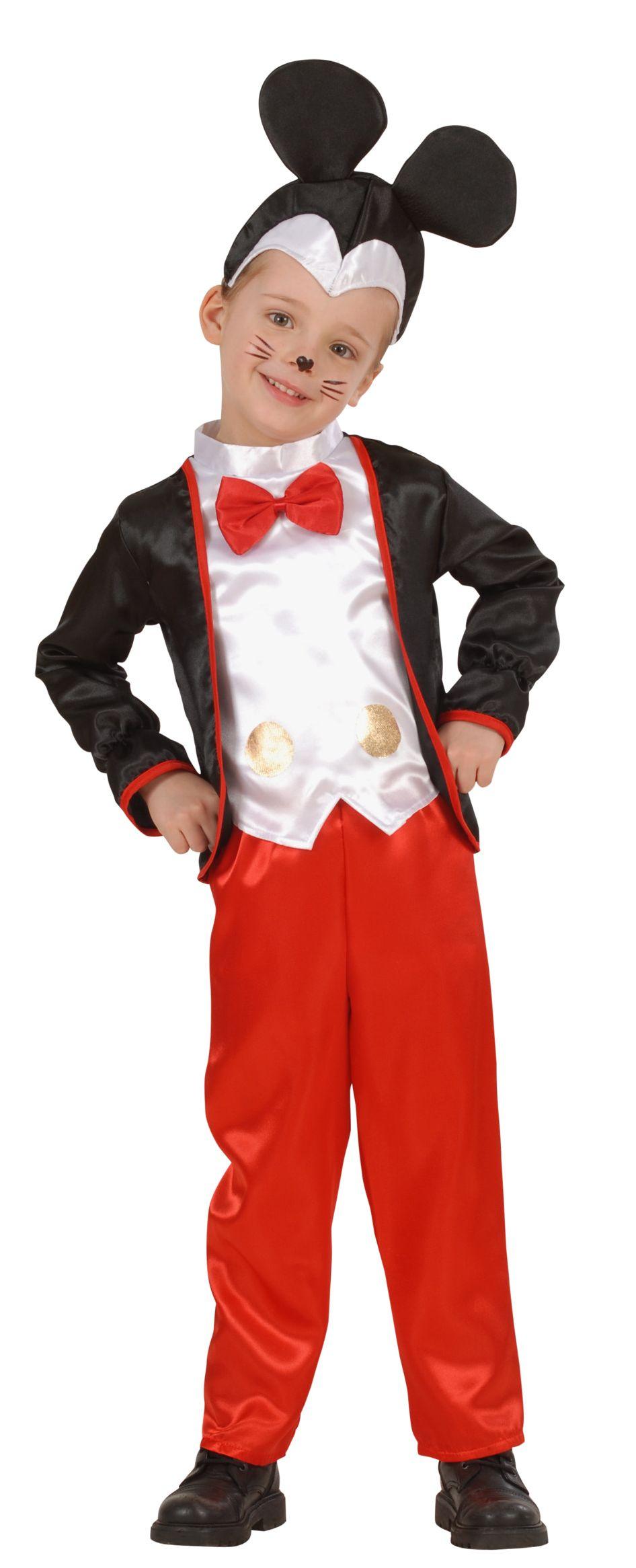 taglia 7 design innovativo consistenza netta Costume topolino bambino