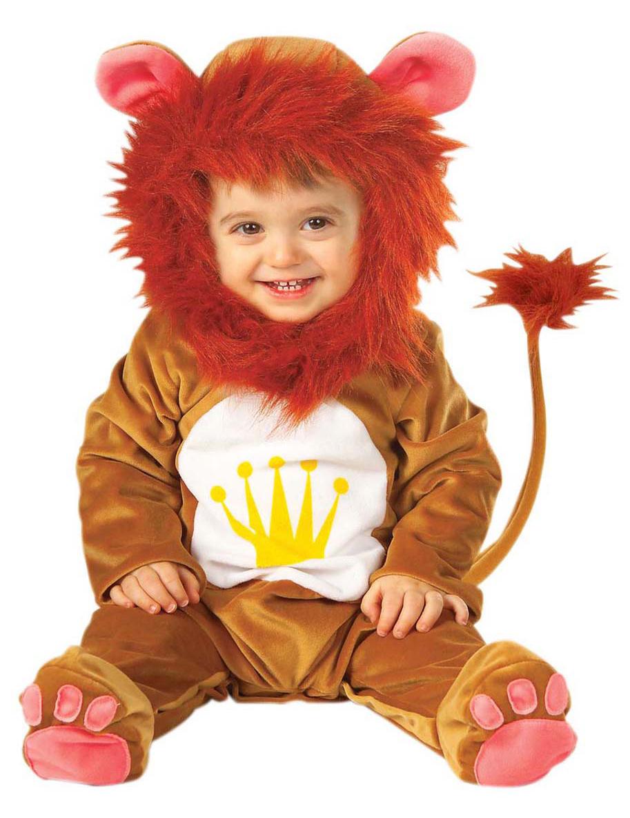 Costume da leone con criniera per neonato 79797d6b066