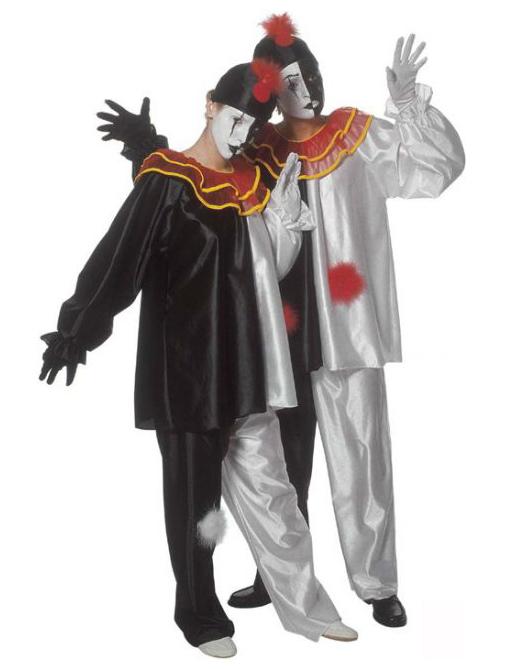 vendita calda genuina buon servizio diventa nuovo Costume da Pierrot per adulto