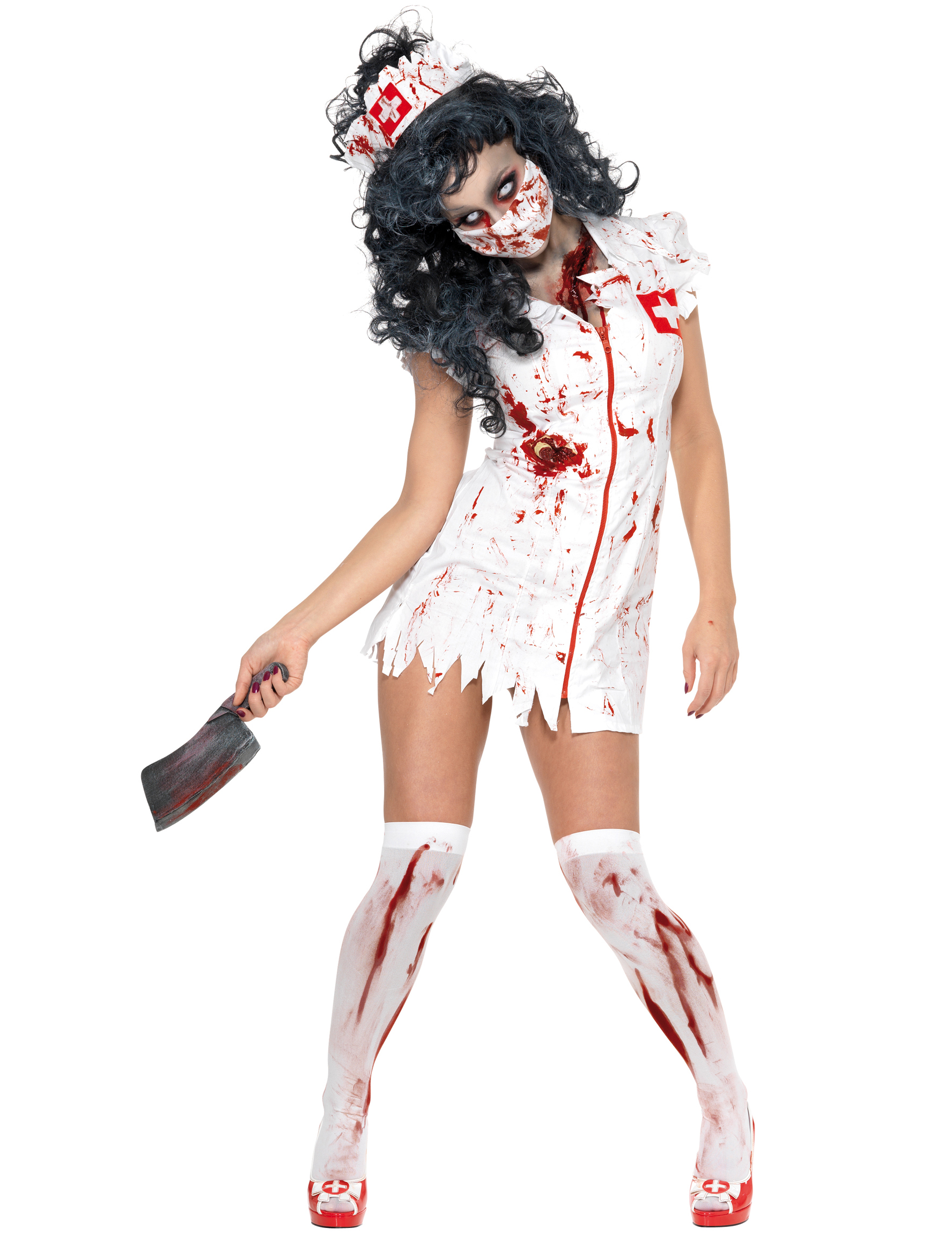 4448cd0b51 Travestimento Halloween infermiera zombie - Vegaoo.it
