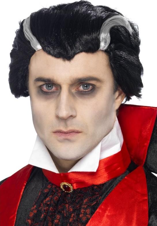 Trucco Halloween Vampiro Uomo.Parrucca Da Vampiro Uomo Halloween