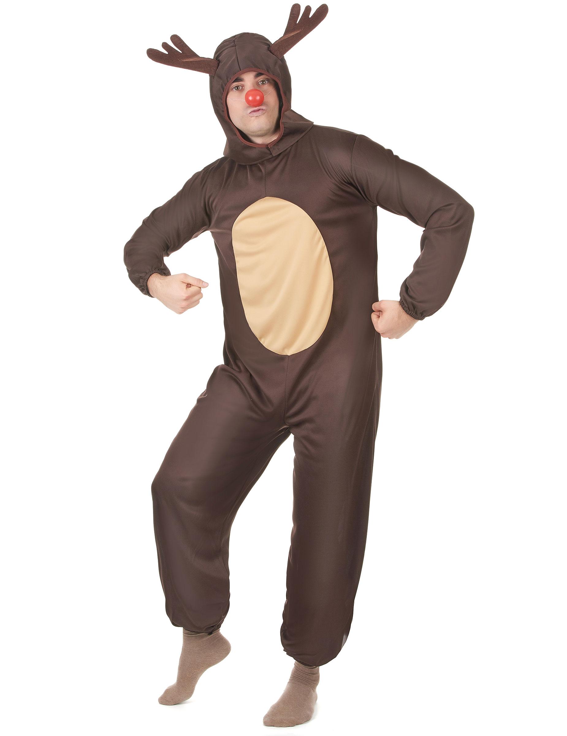 Costume Da Renna Per Adulti Natale Costumi Adultie Vestiti Di