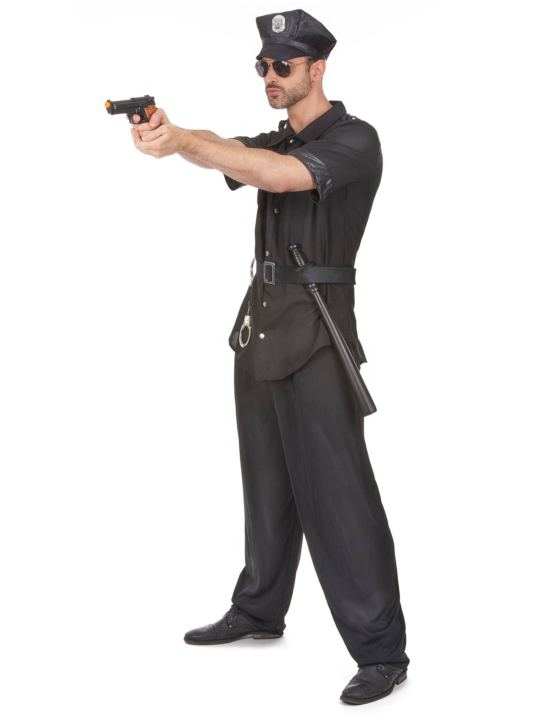 34cae14e8a Costume poliziotto piedi piatti per uomo: Costumi adulti,e vestiti ...